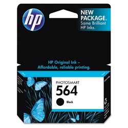 Hewlett Packard (HP) - CB316WN#140 - HP 564 Black Ink Cartridge - Inkjet - 1 Each