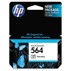 Hewlett Packard (HP) - CB317WN#140 - HP 564 Photo Black Ink Cartridge - Inkjet - 1 Each