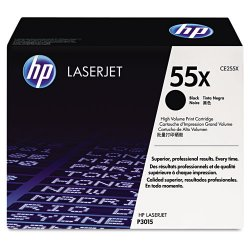 Hewlett Packard (HP) - CE255X - HP 55X Original Toner Cartridge - Single Pack - Laser - 12500 Pages - Black - 1 Each