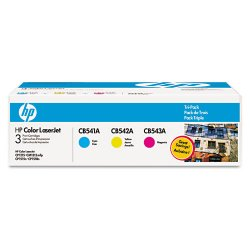 Hewlett Packard (HP) - CE259A - HP 125A Original Toner Cartridge - Tri-pack - Laser - 1400 Pages Cyan, 1400 Pages Magenta, 1400 Pages Yellow - Multicolor