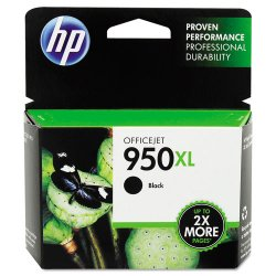 Hewlett Packard (HP) - CN045AN#140 - HP 950XL Original Ink Cartridge - Black - Inkjet - 2300 Page - 1 Each
