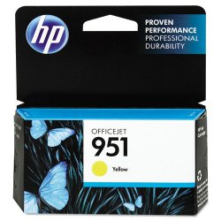 Hewlett Packard (HP) - CN052AN#140 - HP 951 Original Ink Cartridge - Yellow - Inkjet - 1 Each