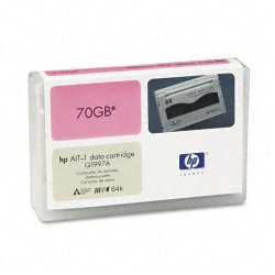 Hewlett Packard (HP) - Q1997A - HP AIT-1 Tape Cartridge - AIT-1 - 35 GB (Native) / 70 GB (Compressed) - 754 ft Tape Length