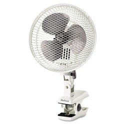 Holmes / Patton - HACP10W-U - Personal Clip Fan, Two-Speed, White