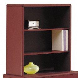 HON - 107292NN - 10700 Series Bookcase Hutch, 32 5/8w x 14 5/8d x 37 1/8h, Mahogany