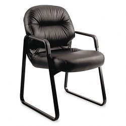 HON - H2093.SR11.T - Pillow-Soft 2093 Guest Chair, Black