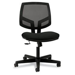 HON - H5713.GA10.T - Black Mesh Task Chair 19 Back Height, Arm Style: No Arms