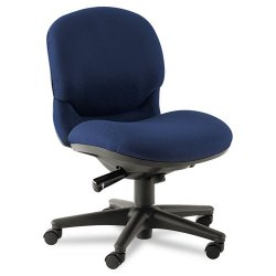 HON - 6005NT90T - HON Sensible Seating Series Mid-Back Pneumatic Dual-Action Synchro-Tilt, Swivel Chair without Arms (Each)