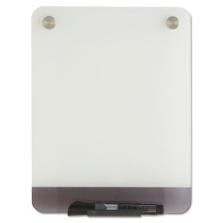 Iceberg - 31110 - Gloss-Finish Glass Dry Erase Board, Wall Mounted, 12H x 9