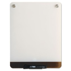 Iceberg - 31120 - Gloss-Finish Glass Dry Erase Board, Wall Mounted, 16H x 12