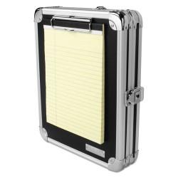 IdeaStream - VZ00151DAS - Locking Storage Clipboard, 2 x 9 3/4 x 12 3/4, Black