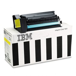 InfoPrint - 75P4058 - 75P4058 High-Yield Toner, 15000 Page-Yield, Yellow
