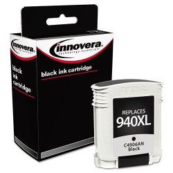 Innovera - 4906AN - Innovera 4906AN Remanufactured Ink Cartridge - Alternative for HP (C4906AN) - Black - Inkjet - High Yield - 2200 Page - 1 Each