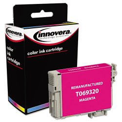 Innovera - 69320 - Innovera 69320 Remanufactured Ink Cartridge - Alternative for Epson (T069320) - Inkjet - 285 Pages - Magenta - 1 Each