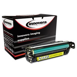 Innovera - E262A - Innovera Remanufactured Toner Cartridge - Alternative for HP (CE262A) - Yellow - Laser - 11000 Page - 1 Each