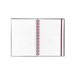 pink black c67009 wire poly cover notebook rule 8 1 4 x 5 5 8 white 70 sheets