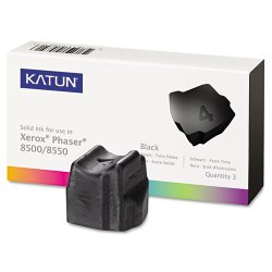 Katun - 37986 - Katun (108R00668) Xerox Compatible Phaser 8500 Solid Ink Sticks - Solid Ink - 3000 Page - 3 / Box