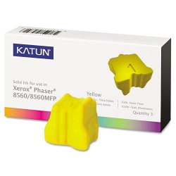 Katun - 37993 - Katun (108R00725) Xerox Compatible Phaser 8560 Solid Ink Sticks - Solid Ink - 3400 Page - 3 / Box