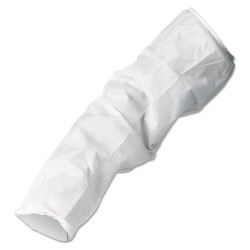 "Kimberly-Clark - 23610 - Kimberly-Clark Professional* One Size Fits All/18"" White KleenGuard* A10 Polypropylene Disposable Light Duty Sleeve Protector"