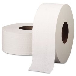 Kimberly-Clark - 03148 - Scott JRT Jr Jumbo Roll Bath Tissue - 2 Ply - 3.50 x 1000 ft - 9 Roll Diameter - White - Fiber - 4 / Carton