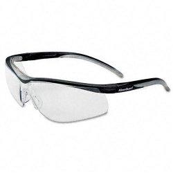 Kimberly-Clark - 08155 - V40 Contour Eye Protection, Black Frame/Silver Mirror Lens