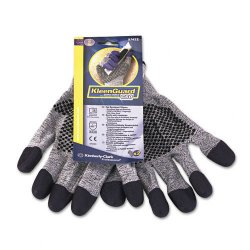 Kimberly-Clark - 97432 - Jackson Safety Prpl Nitrile Gloves - 9 Size Number - Large Size - Nitrile - Purple - Ambidextrous, Cut Resistant - 2 / Pair