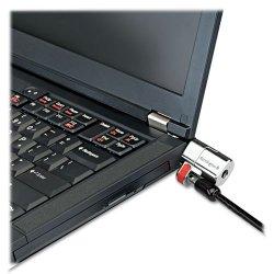Kensington - K64637WW - Kensington ClickSafe Keyed Laptop Locks - Black - Steel - 5 ft - For Notebook