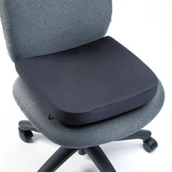 Kensington - L82024 - Kensington Memory Foam Seat Rest - Temperature Control, Washable - Black