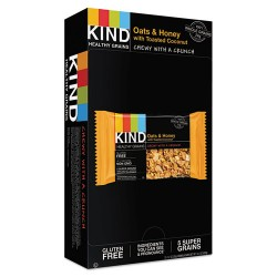 KIND - 18080 - Healthy Grains Bar, Oats and Honey with Toasted Coconut, 1.2 oz, 12/Box