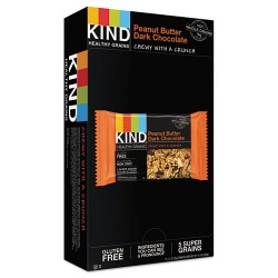 KIND - 18083 - Healthy Grains Bar, Peanut Butter Dark Chocolate, 1.2 oz, 12/Box