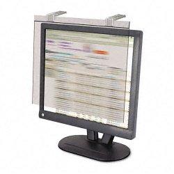 Kantek - LCD20WSV - Kantek LCD Privacy Antiglare Wide-screen Filter Silver - For 20