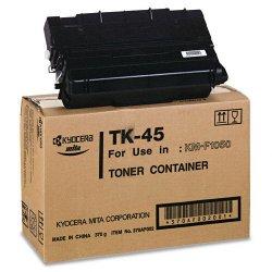 Kyocera - TK45 - Kyocera Black Toner Cartridge - Laser - 12000 Page - Black