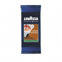 Lavazza - 0460 - Espresso Point Cartridges, Crema Aroma Arabica/Robusta, .25oz, 100/Box