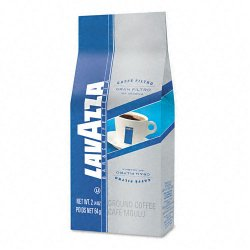 Lavazza - 2410 - Gran Filtro Italian Light Roast Coffee, Arabica Blend, Whole Bean, 2 1/5 Bag