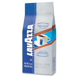 Lavazza - 2431 - Gran Filtro Italian Dark Roast Coffee, 2.25oz, Ground Fraction Pack, 30/Carton