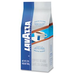 Lavazza - 2440 - Gran Filtro Dark Italian Roast Coffee, Whole Bean, 2.2lb Bag