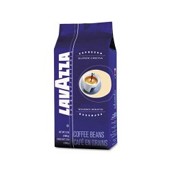 Lavazza - 4202 - Super Crema Whole Bean Espresso Coffee, 2.2lb Bag, Vacuum-Packed