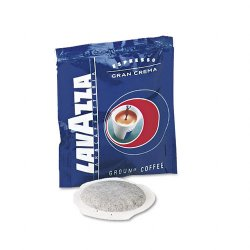 Lavazza - 4483 - Gran Crema Espresso Pods, House Blend, 150/Carton