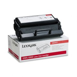 Lexmark - 08A0477 - Lexmark Toner Cartridge - Laser - 6000 Pages - Black - 1 Each