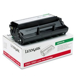 Lexmark - 08A0478 - Lexmark Toner Cartridge - Laser - High Yield - 6000 Pages - Black - 1 Each