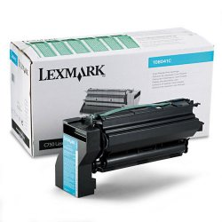Lexmark - 10B041C - Lexmark Toner Cartridge - Laser - 6000 Pages - Cyan - 1 Each