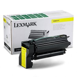 Lexmark - 10B041Y - Lexmark Yellow Toner Cartridge - Laser - 6000 Page - 1 Each