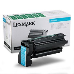 Lexmark - 10B042C - Lexmark Original Toner Cartridge - Laser - High Yield - 15000 Pages - Cyan - 1 Each