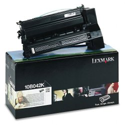 Lexmark - 10B042K - Lexmark Black Toner Cartridge - Laser - High Yield - 15000 Page - 1 Each