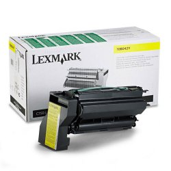 Lexmark - 10B042Y - Lexmark Original Toner Cartridge - Laser - High Yield - 15000 Pages - Yellow - 1 Each