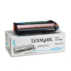Lexmark - 10E0040 - Lexmark Toner Cartridge - Laser - 10000 Pages - Cyan - 1 Pack