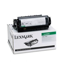 Lexmark - 12A6869 - Lexmark Original Toner Cartridge - Laser - 30000 Pages - Black - 1 Each