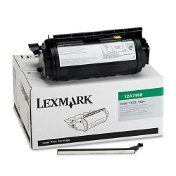 Lexmark - 12A7468 - Lexmark Original Toner Cartridge - Laser - 21000 Pages - Black - 1 Each
