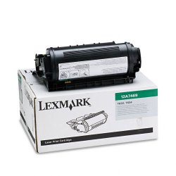 Lexmark - 12A7469 - Lexmark Original Toner Cartridge - Laser - 32000 Pages - Black - 1 Each