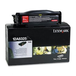 Lexmark - 12A8325 - Lexmark Toner Cartridge - Laser - High Yield - 12000 Pages - Black - 1 Each